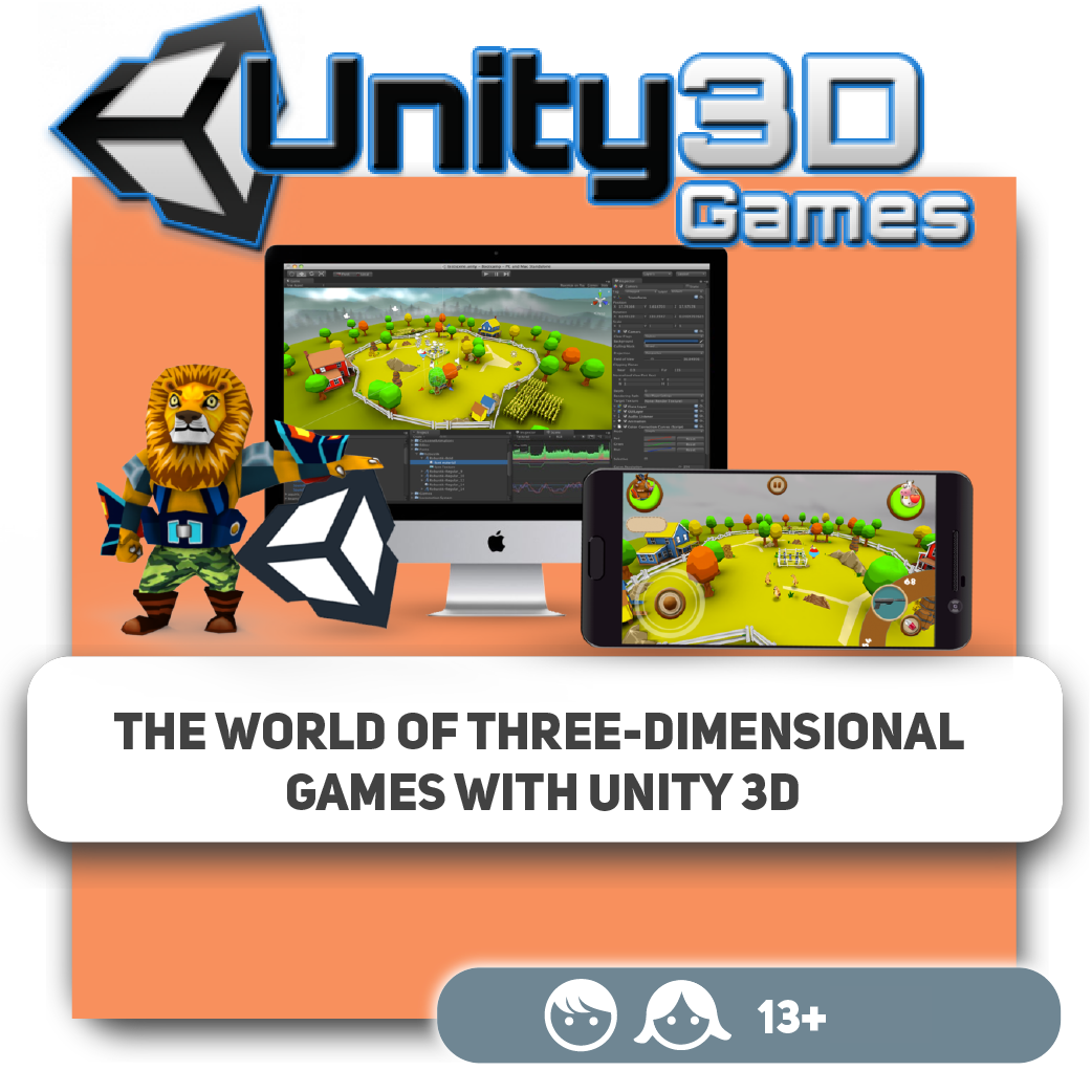 The World Of Three-dimensional Games With Unity 3D
